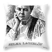 Selma Lagerlof (1858-1940) Throw Pillow