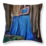 Shabby Genteel Throw Pillow