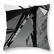 Shaft Tower Throw Pillow