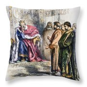 Shakespeare: King John Throw Pillow