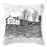 Shays Rebellion, 1787 Throw Pillow