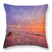Shelling Throw Pillow