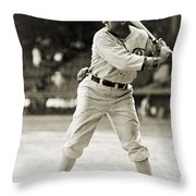 Shoeless Joe Jackson  (1889-1991) Throw Pillow