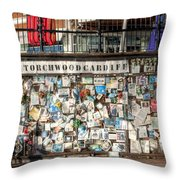 Shrine To Ianto Throw Pillow