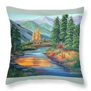 Sierra Creek Throw Pillow