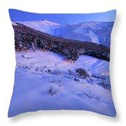 Sierra Nevada National Park Throw Pillow