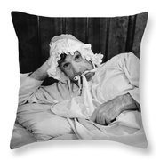 Silent Still: Bedroom Throw Pillow