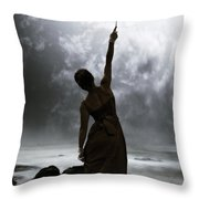 Silhouette Throw Pillow by Joana Kruse