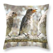 Sing Sing Sing Throw Pillow