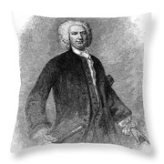 Sir William Pepperell Throw Pillow