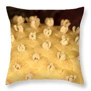 Skunk Cabbage Flower Throw Pillow