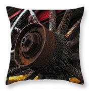 Slower Times Throw Pillow