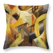 Small Composition I Throw Pillow