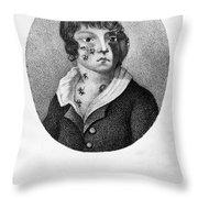 Smallpox Vaccination, 1807 Throw Pillow