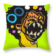 Smile For Luck  Throw Pillow