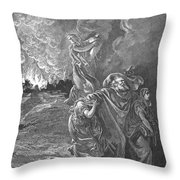 Sodom & Gomorrah Throw Pillow