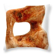 Sorprendido 3 Throw Pillow