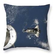 Space Shuttle Endeavour, A Russian Throw Pillow