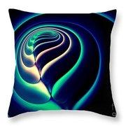 Spiral-2 Throw Pillow