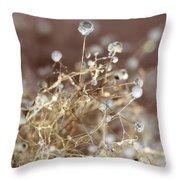 Spore Throw Pillow