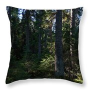 Spruces Throw Pillow