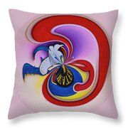Spuds Waterfront Dining Sign - Orb Throw Pillow