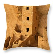 Square Tower Evening Throw Pillow