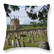 St James Church Graveyard Throw Pillow