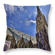 St Stephens - Vienna Throw Pillow
