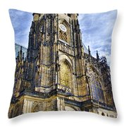 St Vitus Cathedral - Prague Throw Pillow