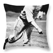 Stan Coveleski (1889-1984) Throw Pillow