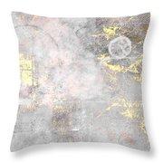 Starlight Mist Throw Pillow