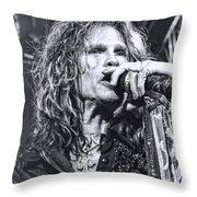 Steven Sings Throw Pillow