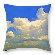 Storm Clouds Rising  Art Throw Pillow