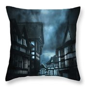 Storm Is Coming Throw Pillow by Svetlana Sewell