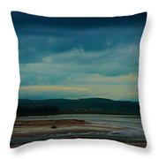 Stormy Morning 2 Throw Pillow