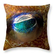 Stubby Squid Throw Pillow