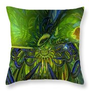 Sudden Disturbance Fx  Throw Pillow