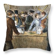 Suffrage: Woodhull Sisters Throw Pillow
