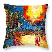 Sun City Throw Pillow