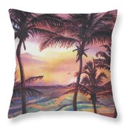 Sunrise At Cattlewash 2 Throw Pillow