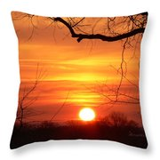 Sunrise In Tennessee Throw Pillow