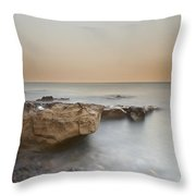 Sunset On The Mediterranean Throw Pillow