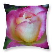 Sweet Scent Of A Rose Throw Pillow