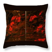 Symphony No. 8 Movement 13 Vladimir Vlahovic- Images Inspired By The Music Of Gustav Mahler Throw Pillow
