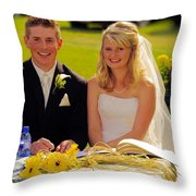 T And T 39 Throw Pillow