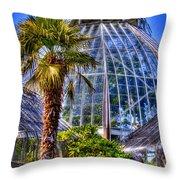 Tacoma Botanical Conservatory Throw Pillow