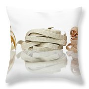 Tagliatelle Throw Pillow