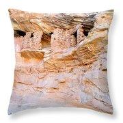 Target - Bulls Eye Anasazi Indian Ruins Throw Pillow
