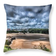 Tenby Pembrokeshire Throw Pillow